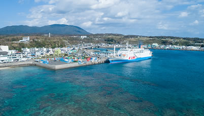 マルエーフェリー(株) 「フェリーあけぼの」Ferry Akebono 「フェリー波之上」Ferry Naminoue